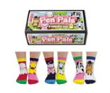 United Oddsocks Pen Pals 6 odd socks (not pairs)